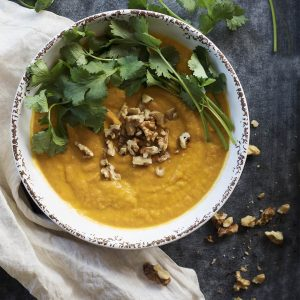 New Recipe: Warming Sweet Potato Soup