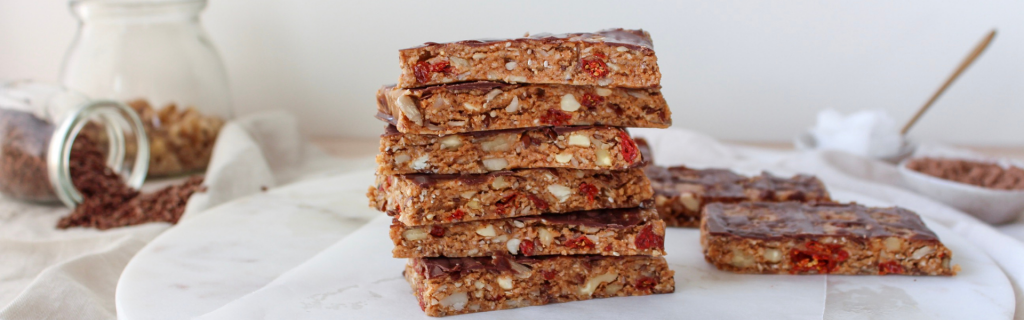 New Recipe: Nutty MCT Protein Bars
