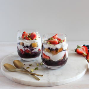 New Recipe: Coco-Berry Trifle