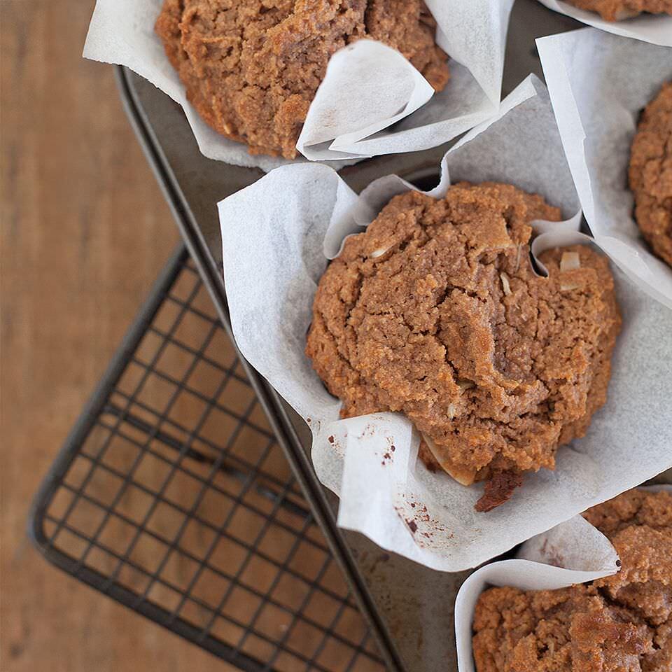 Paleo Choc Coconut Muffins