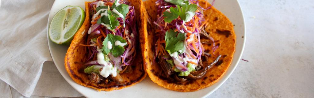New Recipe: Pulled Beef Brisket & Sweet Potato Tortillas
