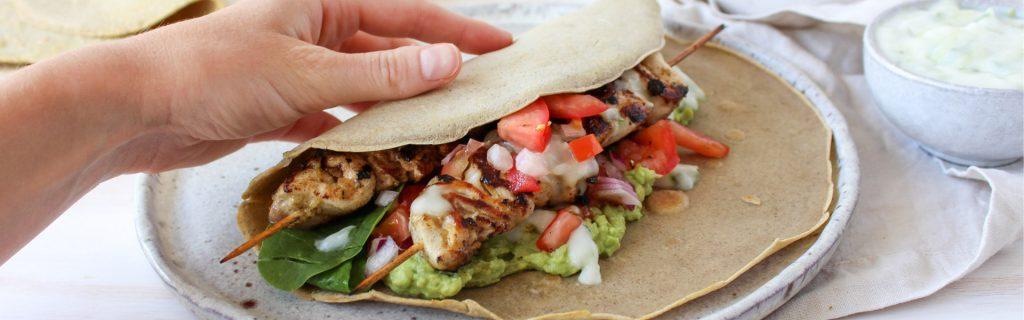 New Recipe: Healthy Chicken Souvlaki
