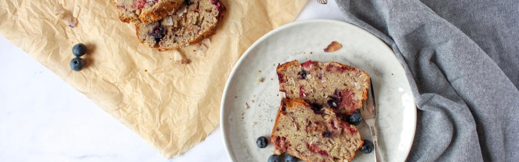 New Recipe: Mixed Berry Bread
