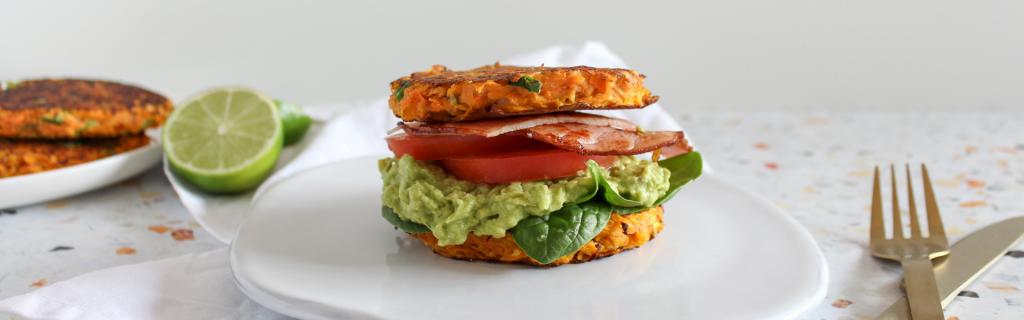 New Recipe: Sweet Potato Hash Stack