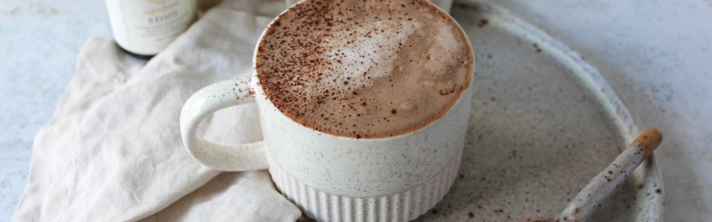 New Recipe: Sugar Free Reishi Hot Chocolate