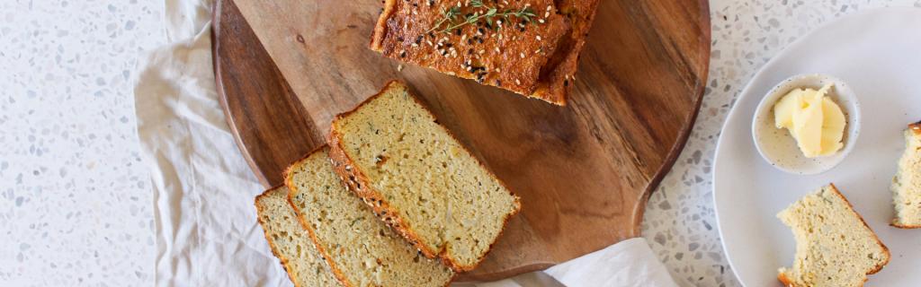 New Recipe: Low Carb Cauliflower Garlic Bread
